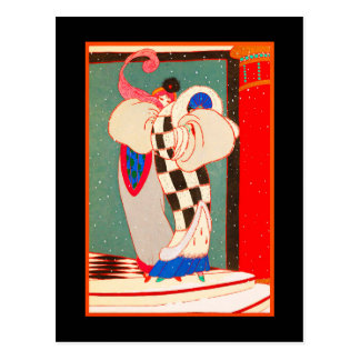 Carte postale 17 d'art déco