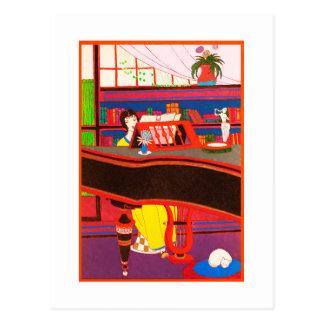 Carte postale 18 d'art déco