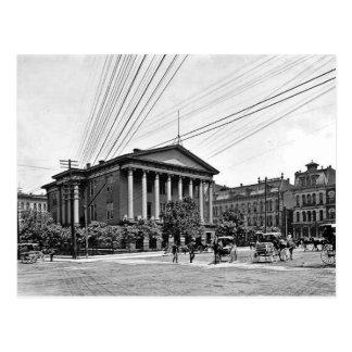 Carte postale 1900 de Nashville Tennessee de