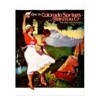 Carte Postale 1919 brochets font une pointe l'affiche du