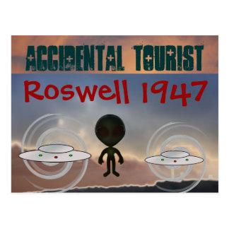 Carte postale 1947 de Roswell