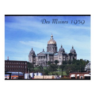Carte postale 1959 de Des Moines