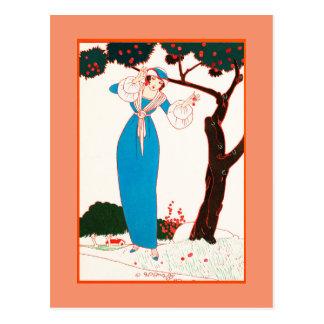 Carte postale 19 d'art déco