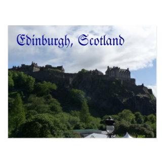 Carte postale 1 de château d'Edimbourg
