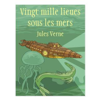 Carte Postale 20000 lieues sous les mers - Jules Verne