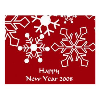 Carte postale 2008 de bonne année