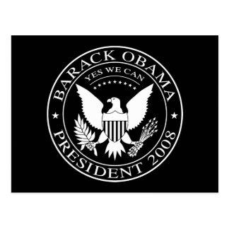 Carte postale 2008 présidentielle de joint de