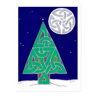 Carte postale 2010 de solstice d'hiver