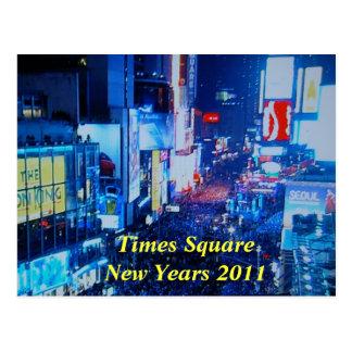 Carte postale 2011 d'années de SquareNew de