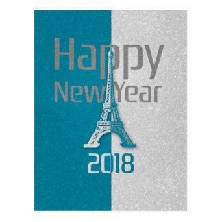 Carte Postale 2018 bonnes années | Paris