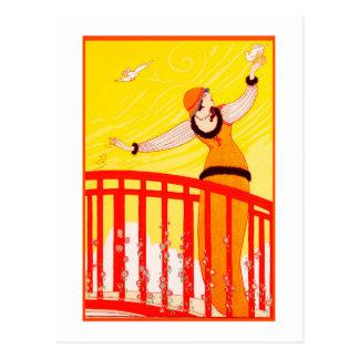 Carte postale 21 d'art déco