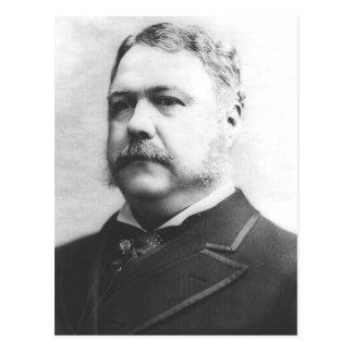 Carte Postale 21ème président de Chester Alan Arthur