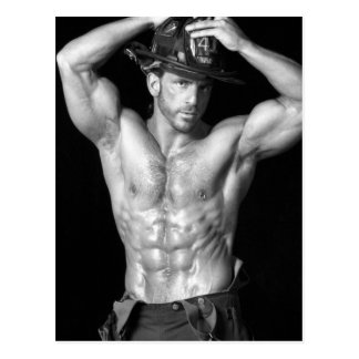 Carte postale #2 de pompier
