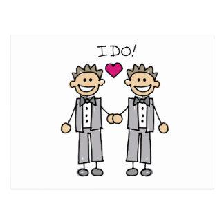 Carte Postale 2 mariés