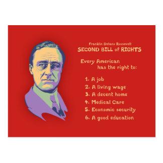 Carte Postale 2ème Déclaration des droits