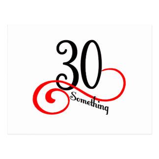 Carte Postale 30 quelque chose