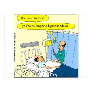 Carte Postale 348 plus une bande dessinée hypocondriaque de