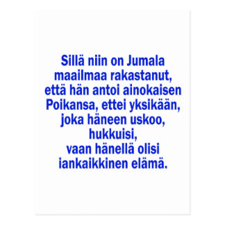 Carte Postale 3h16 de John finlandais