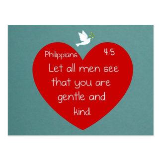 Carte Postale 4:5 de Philippiens