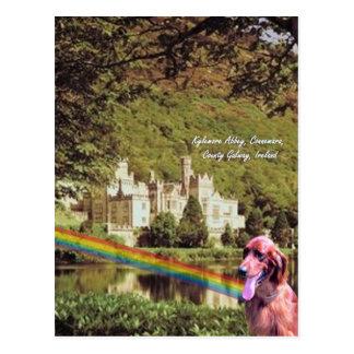 Carte Postale 4. Abbaye Irlande - conception #2 de Kylemore