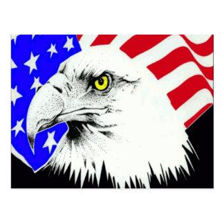 Carte Postale 4 juillet Eagle