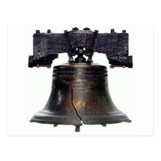 Carte Postale 4 juillet Liberty Bell