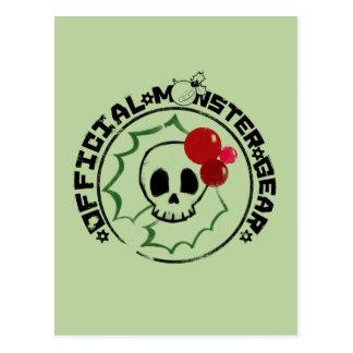 Carte Postale 4 petits monstres - logo 2 de vacances de Nessa