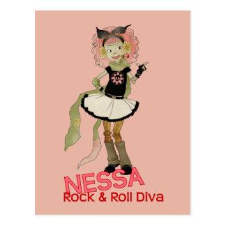 Carte Postale 4 petits monstres - Nessa