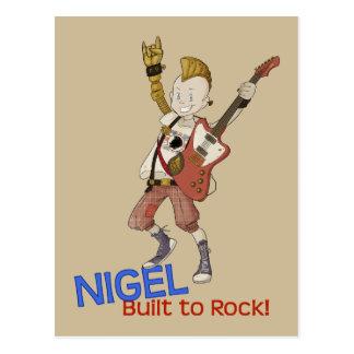Carte Postale 4 petits monstres - Nigel
