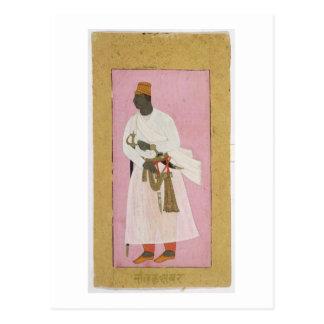Carte Postale 50.14/8 Portrait d'ambre de Malik, inscrit dans