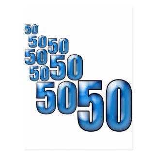 CARTE POSTALE 50 50 50