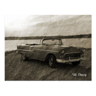Carte Postale '55 Chevy