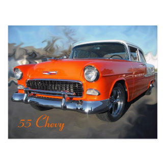 Carte Postale 55 Chevy