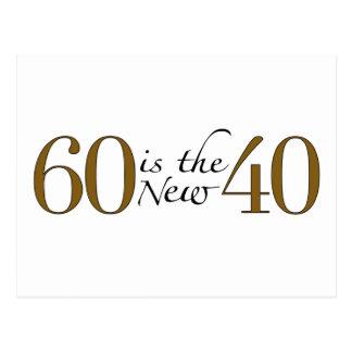 Carte Postale 60 est les nouveaux 40