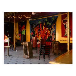 Carte Postale 6h35 du matin, Café Brésil, la Nouvelle-Orléans