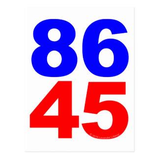 CARTE POSTALE 86 45