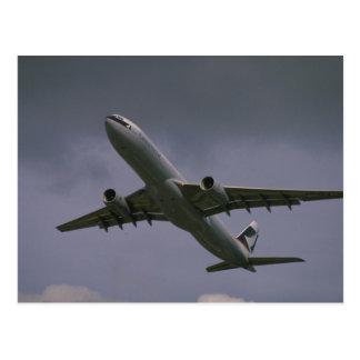 Carte Postale A330 Airbus, avion de ligne de Cathay Pacific