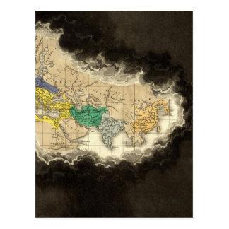 Carte Postale À la mort de l'ANNONCE de Constantine 337