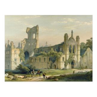 Carte Postale Abbaye de Kirkstall du nord-ouest, 'du lundi