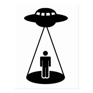 Carte Postale Abduction d'UFO