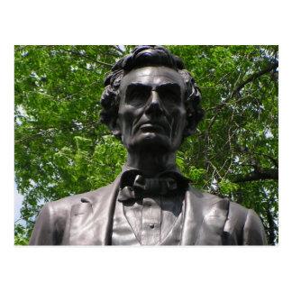 Carte Postale Abe Lincoln en parc de Taylor