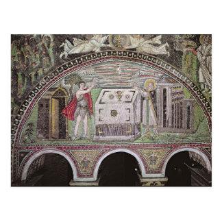 Carte Postale Abel et Melchisedech offrant à l'autel