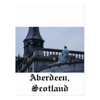 Carte Postale Aberdeen, Ecosse