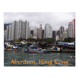 Carte Postale Aberdeen, Hong Kong