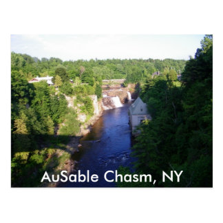 Carte Postale Abîme d'AuSable, NY