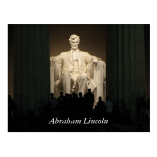 Carte Postale Abraham Lincoln, DC de Washington
