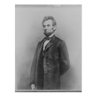 Carte Postale Abraham Lincoln, janvier 1864