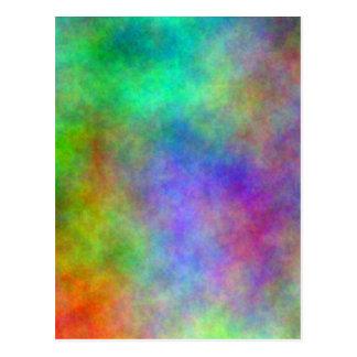 Carte Postale Abrégé sur couleur