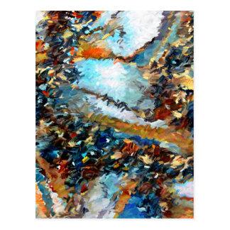 Carte Postale Abrégé sur Geode d'agate