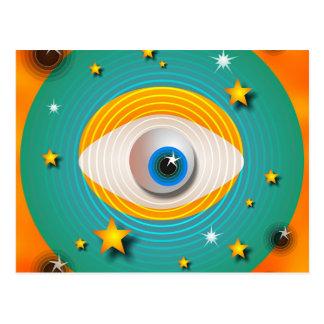 Carte Postale Abrégé sur globe oculaire